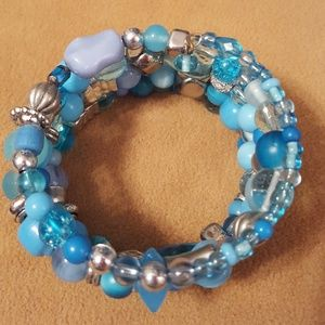 Jewelry - Turquoise & Silver Bracelet!
